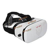 Вр макс коробка 3d очки виртуальной реальности гарнитура фильм игра шлем для 4.0 до 6.0 дюймовый мобильный телефон