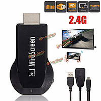 2.4G Miracast Wi-Fi Display HD 1080P HDMI AirPlay DLNA TV Dongle Stick Receiver