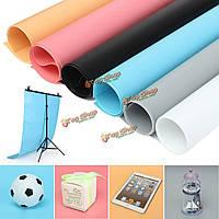 68x130см 3x5ft 6 цветов моющиеся ПВХ студия фотографии фон фото фон освещения, фото 1