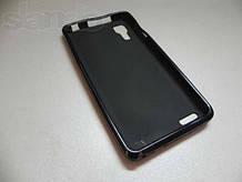 Чехол-накладка силикон для Lenovo P780 черная