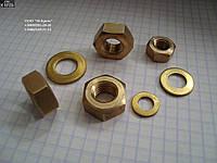 Гайка шестигранная латунная М5 ГОСТ 5915-70, ГОСТ 5927-70, DIN 934