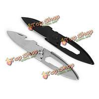 Многофункциональный нержавеющей стали брелок для ключей нож нож самообороны EDC инструмент