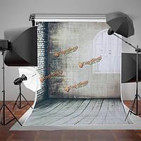 1.5x2.1m арочные Windows серые стены нетканое съемки студия фотографии фоном фон
