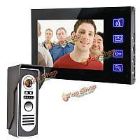 SYSD sy806m11 сенсорный экран 7-дюймов видео домофон дверной звонок Интерком комплект ночного видения монитор камеры