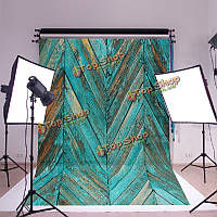 1.5x2.1m синий саржа краска дерево съемки студия фотографии фоном фон