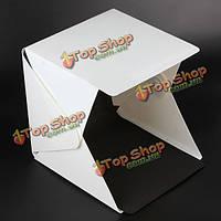 Портативный 240x230x226mm фотографии студии софтбокс складное Lightbox LED светлая коробка