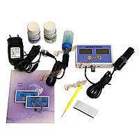 Электронное соленость и значение рН режиме он-лайн монитора метровой Качество воды 2 датчика установлены