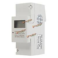 Dds238-2ro цифровой 230В 5 (65) дин-рейку киловатт-час дисплей LCD  кВт.ч метр, фото 1