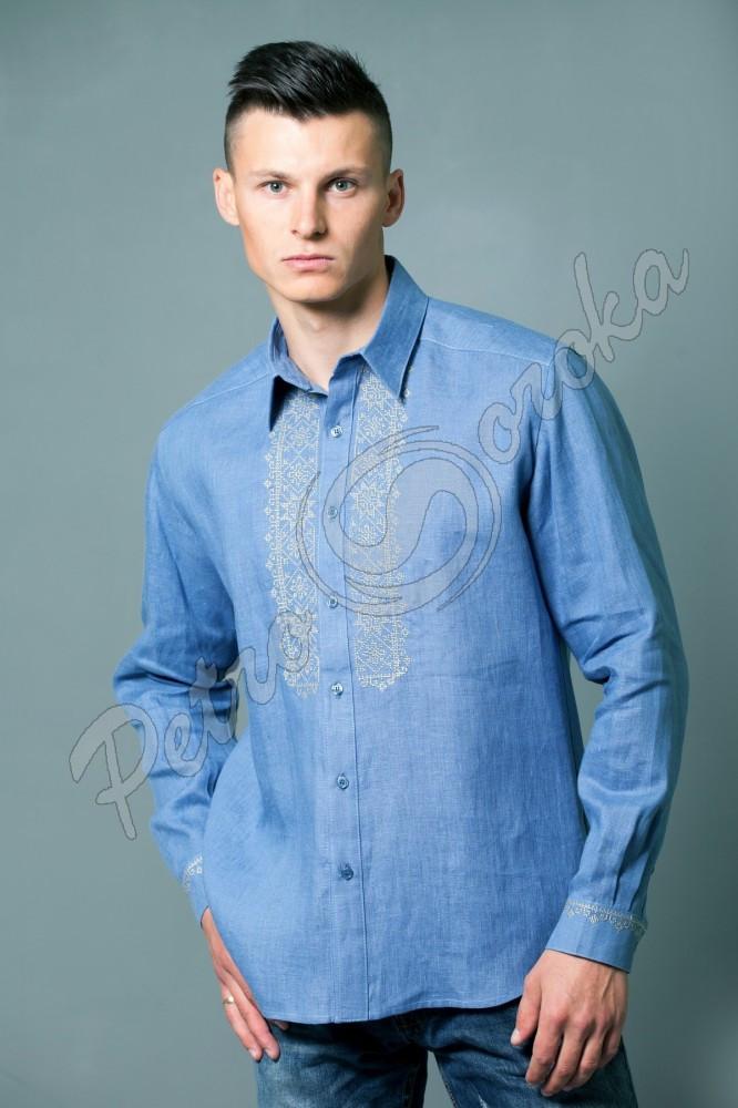 Рубашка-вышиванка Petro Soroka модель МТ 2064-07 Г