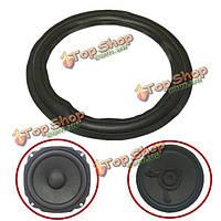 Черный 12-дюймовый динамик объемного звучания декоративный круг ремонта пену для бас-динамик рог