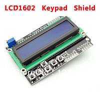 Arduino LCD 1602 Keypad Shield дисплей