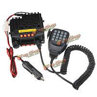 Qyt уф портативный двухдиапазонный vhf136-174/uhf400-480МГц мобильный приемопередатчик транспортного средства двусторонней радиосвязи