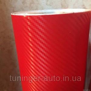 3D карбон Красный. TR1