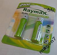 Аккумулятор АА палец Raymax R6 2500 mAh 1.2V