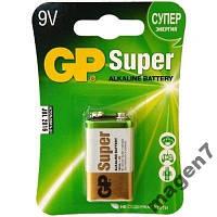 Батарейка GP SUPER 6F22 (крона)