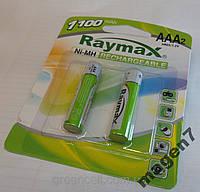 Аккумулятор ААА микропалец Raymax R03 1100 mAh