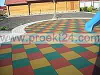 Травмобезопасные покрытия для детских игровых и спортивных площадок