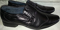 Туфли подростковые натур кожа мод KANGFU 33