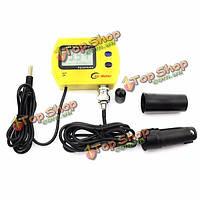 PH-991 портативный измеритель pH Анализатор качества аквариума бассейн ацидометр рН воды и температуры монитор