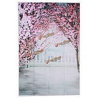 1x1.5m 3x5ft шелк хлопок вишня персик цветы винил фото студия фоном фон реквизита