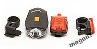 Велосипедный фонарь Hilipai KK-606+стоп сигнал