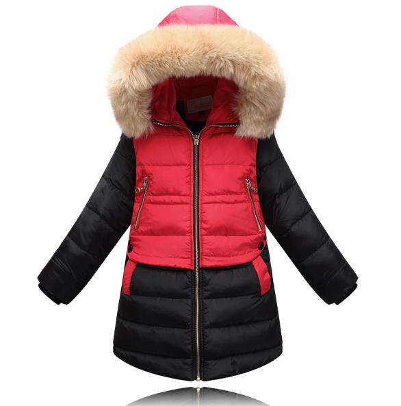 Модна зимова куртка для дівчинки на пуху  продажа 08feb8a033a23
