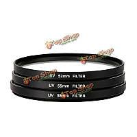 УФ ультрафиолетовый фильтр защиты объектива 52мм 55мм 58мм 62мм 67мм 72мм 77мм 82мм для камеры Canon Никон