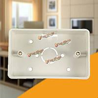 Пластиковая коробка для настенного монтажа 118 стандартных mediu большой сенсорный выключатель света кассета