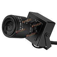 IP мини камера 720p 1.0мp ONVIF 2.8-12мм зум-объектив p2p с кронштейном