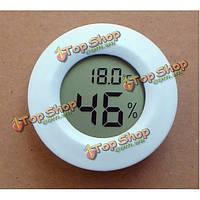Мини ЖК-цифровой термометр гигрометр холодильник с морозильной камерой температуры тестер детектор влажности метр