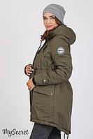 Куртка-парка для беременных Inira new, хаки