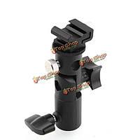 Металл камеры E тип держателя вспышки обуви зонтик крепление свет стенд кронштейн поворотный