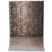 1x1.5m 3x5ft текстура древесины цветок винил фотостудия фото фон