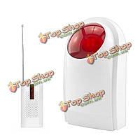 Kerui j008 беспроводной строб сирены мигающие датчика 433МГц с transimit для GSM сигнализации безопасности Wi-Fi