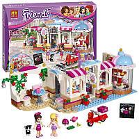"""Конструктор Bela Friends 10496 """"Кондитерская"""" (аналог LEGO Friends 41119), 444 деталей."""