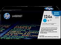 Картридж HP CLJ 2600, (Q6001A/124A), Cyan