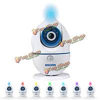 ESCAM пингвин qf521 Wi-Fi монитор младенца 720p фотовспышка сд & температура гигрометр Micro-SD