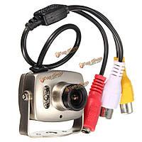 Мини камера ночного видения инфракрасная проводная видеонаблюдения
