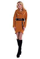 Демисезонное женское кашемировое пальто арт. Кураж 90 - 2611