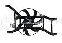 Вентилятор охлаждения радиатора (диффузор) Renault Logan (08-...) Largus (12-) ЛУЗАР