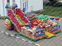 Драконий замок (детский надувной комплекс для игр)