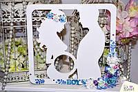 Рамка для снимка УЗИ (материал Фанера) заготовка для декора