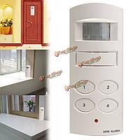 Домашней сигнализации дверей Система оповещения безопасности беспроводной сети датчиков, программируемых с кла