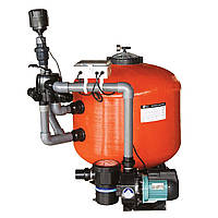 Бобинные мотанные стекловолоконные фильтрацинные системы для прудов с боковым подключением EMAUX KOK-90