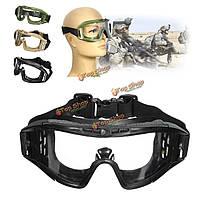 FJ-G006 CS страйкбола тактические защитные очки прихлопнуть очки защитные средства для глаз маска очки