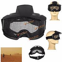 FJ-G007 CS страйкбол взрывозащищенные очки очки защитные очки защитные средства для глаз маска стальной сетки