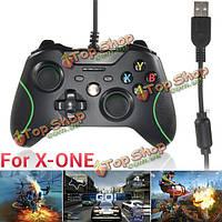 Проводной USB игровой контроллер площадку джойстик джойстик для Microsoft Xbox один ПК игра черный