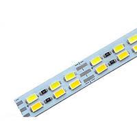 Светодиодная LED линейка SMD 5630-144 холодный+тёплый 30Вт 4320Лм