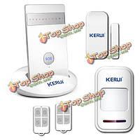 Охранная сигнализация телефон дозвона GSM Kerui g15 беспроводной Android iOS смс GPRS Безопасность дома приложение
