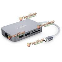 MINIX нео с С-типа мультипортовый адаптер с HDMI выход локальных сетей гигабита USB3.0 х слот для карт памяти SD Card 2 тф